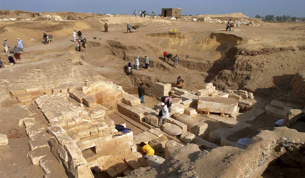 Excavacions a Oxirrinc