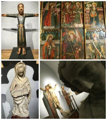Diverses peces romantiques i gòtiques de la col·lecció medieval de la FPCAI